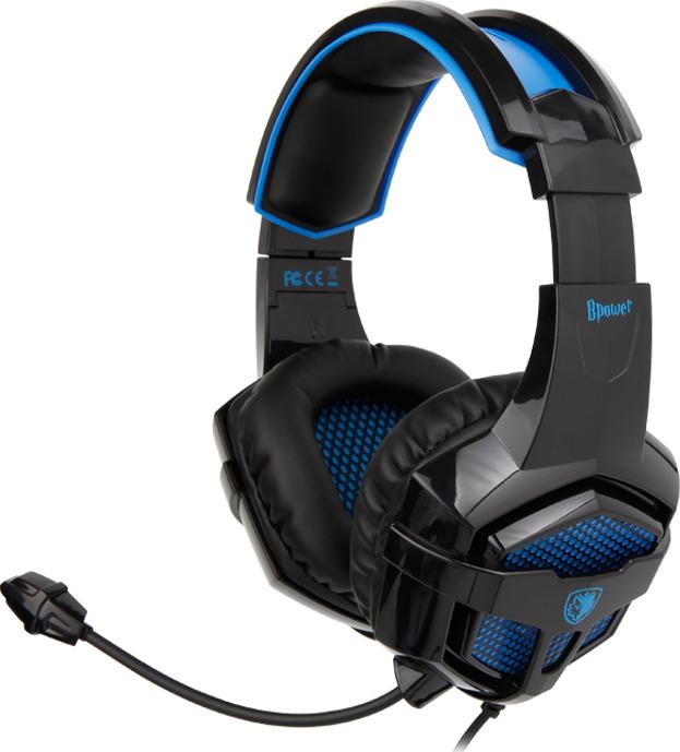 SADES Bpower SA-739 Gaming Headset Blue