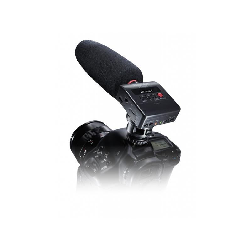 Tascam DR-10SG Φορητός Εγγραφέας Με Shotgun Μικρόφωνο & MicroSD