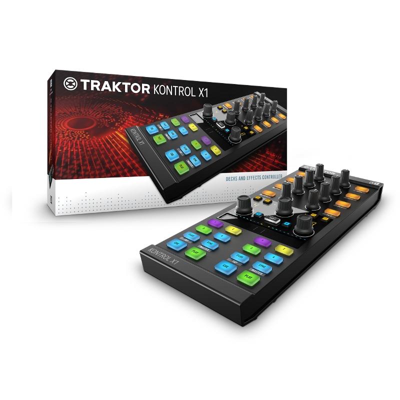 Native Instruments Traktor Kontrol X1 MK II USB Controller Για έλεγχο του Traktor