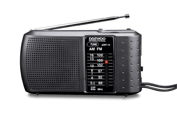 Daewoo DRP-14 Ραδιόφωνο AM/FM
