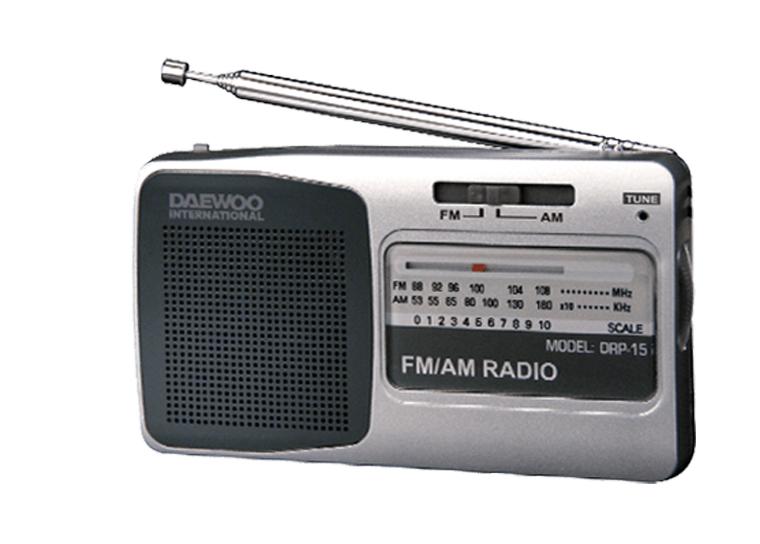 Daewoo DRP-15 Αναλογικό Ραδιόφωνο AM/FM