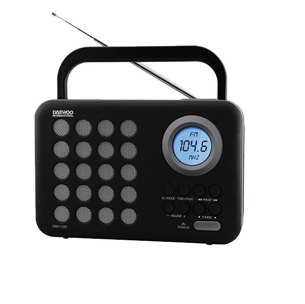 Daewoo DRP-120 Ψηφιακό ραδιόφωνο AM / FM
