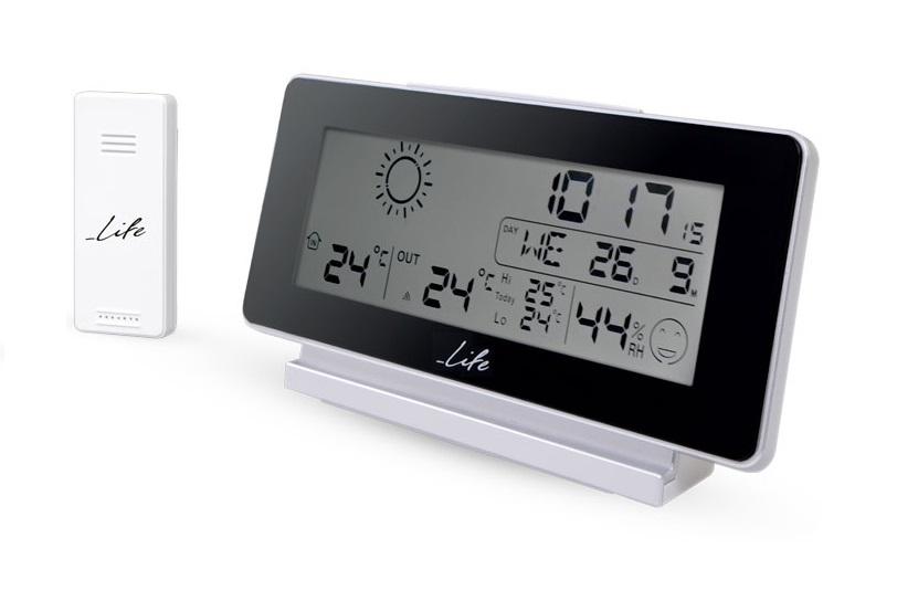 LIFE WES-200 Μετεωρολογικός Σταθμός Μέτρηση θερμοκρασίας & Υγρασίας