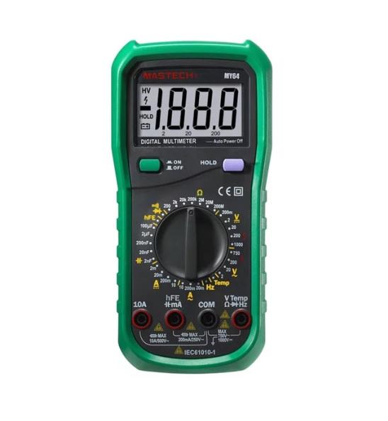 Mastech MY64 Ψηφιακό Πολύμετρο Υψηλής Ακρίβειας