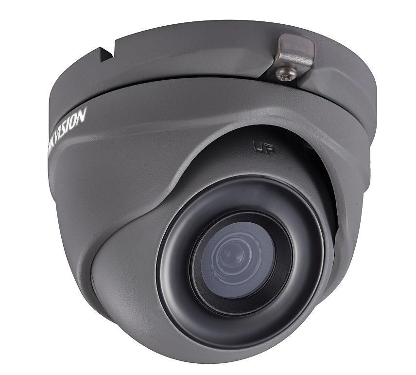 Hikvision DS-2CE56H0T-ITMF GREY Κάμερα HDTVI 5MP Φακός 2.8mm