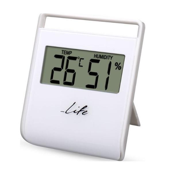 LIFE WES-102 Ψηφιακό Θερμόμετρο Υγρόμετρο Εσωτερικού Χώρου