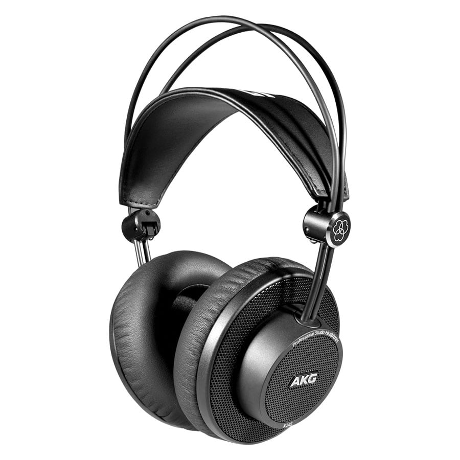 AKG K245 Δυναμικό Ακουστικό Ημιανοιχτού Τύπου 15-25ΚΗΖ 32Ω