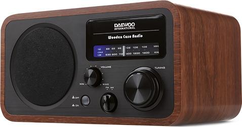 Daewoo DRP-134 Ραδιόφωνο AM/FM 4W