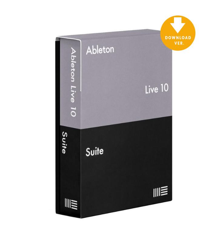 Ableton Live 10 Suite UPG , Αναβάθμιση εκδόσεων Live Suite7-9 σε Live 10 Suite (Σειριακός Αριθμός)