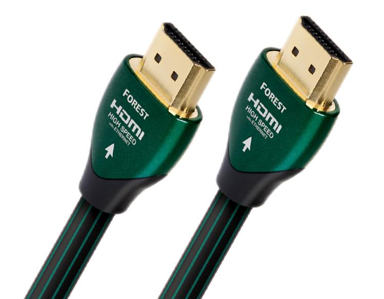 AudioQuest Forest Καλώδιο HDMI 2.0, 4K UltraHD Μήκος 1m