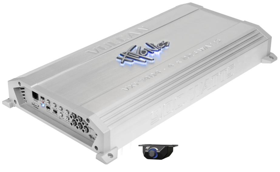 Hifonics VXI 9404 Τετρακάναλος Eνισχυτής Aυτοκινήτου 4 x 125 WRMS/4Ohm