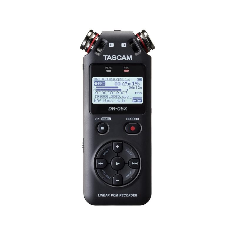 Tascam DR-05X Φορητός ψηφιακός εγγραφέας 24bit/96kHz