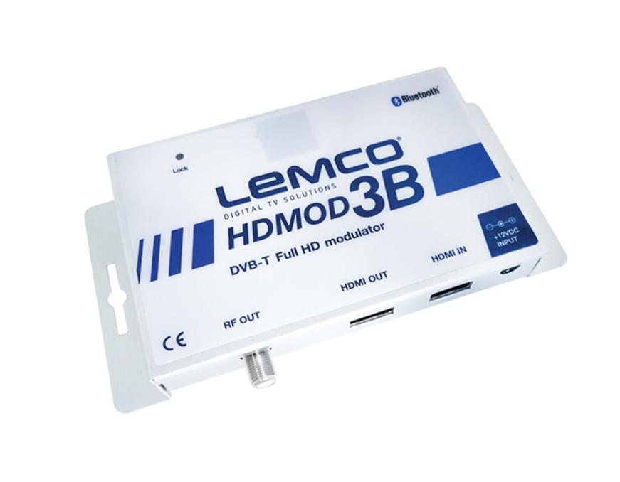 LEMCO HDMOD-3B Ψηφιακός Διαμορφωτής (Modulator) HDMI FullHD σε RF DVB-T, με HDMI Loop-through