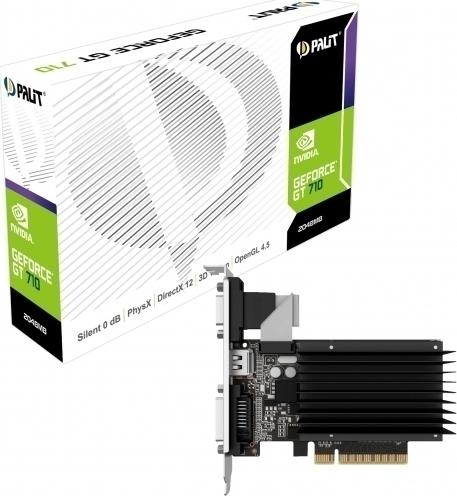 Palit GeForce GT710 (NEAT7100HD46-2080H) Κάρτα Γραφικών 2GB