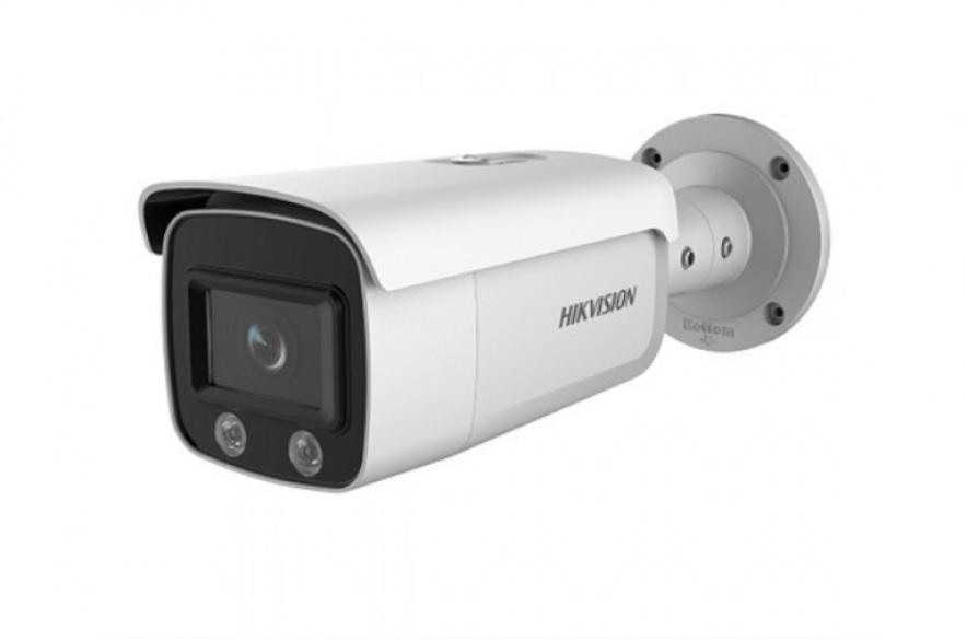 Hikvision DS-2CD2T47G1-L ColorVu (Έγχρωμη Εικόνα Ημέρα - Νύχτα) Δικτυακή Κάμερα 4MP Φακός 4mm