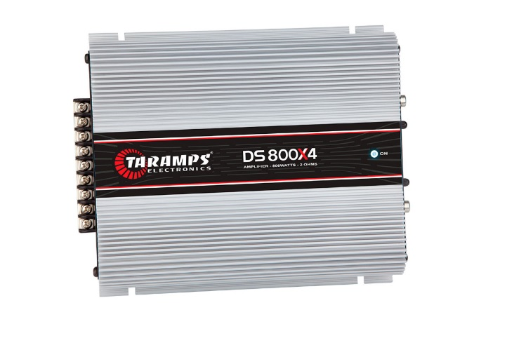 Taramps DS800X4 Τετρακάναλος Ενισχυτής Αυτοκινήτου 4 x 200W RMS/ 2OHM