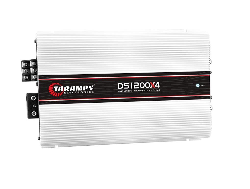 Taramps DS1200X4 Τετρακάναλος Ενισχυτής Αυτοκινήτου 4 x 300W RMS/2Ohm