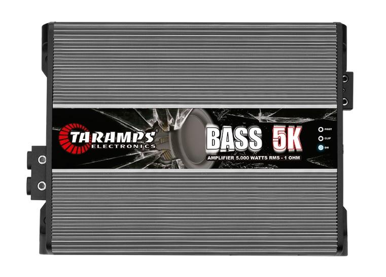 Taramps Bass5K Μονοκάναλος ενισχυτής αυτοκινήτου 5000W RMS/1Ohm
