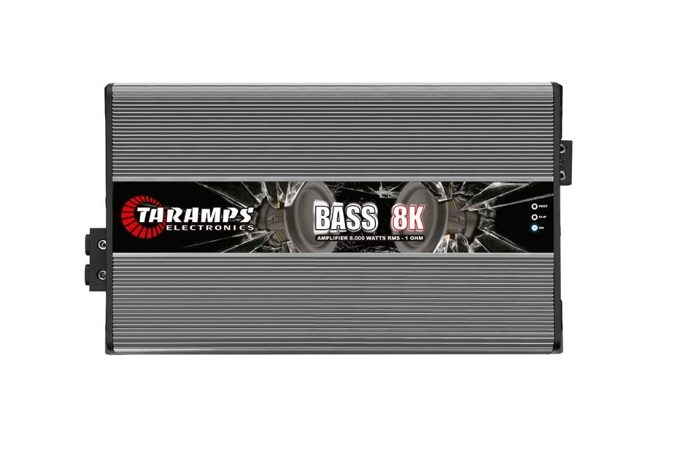 Taramps Bass8K Μονοκάναλος Ενισχυτής Αυτοκινήτου 8000W RMS/ 1Ohm
