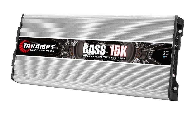 Taramps Bass15K Μονοκάναλος Ενισχυτής Αυτοκινήτου 15000W RMS/ 1Ohm