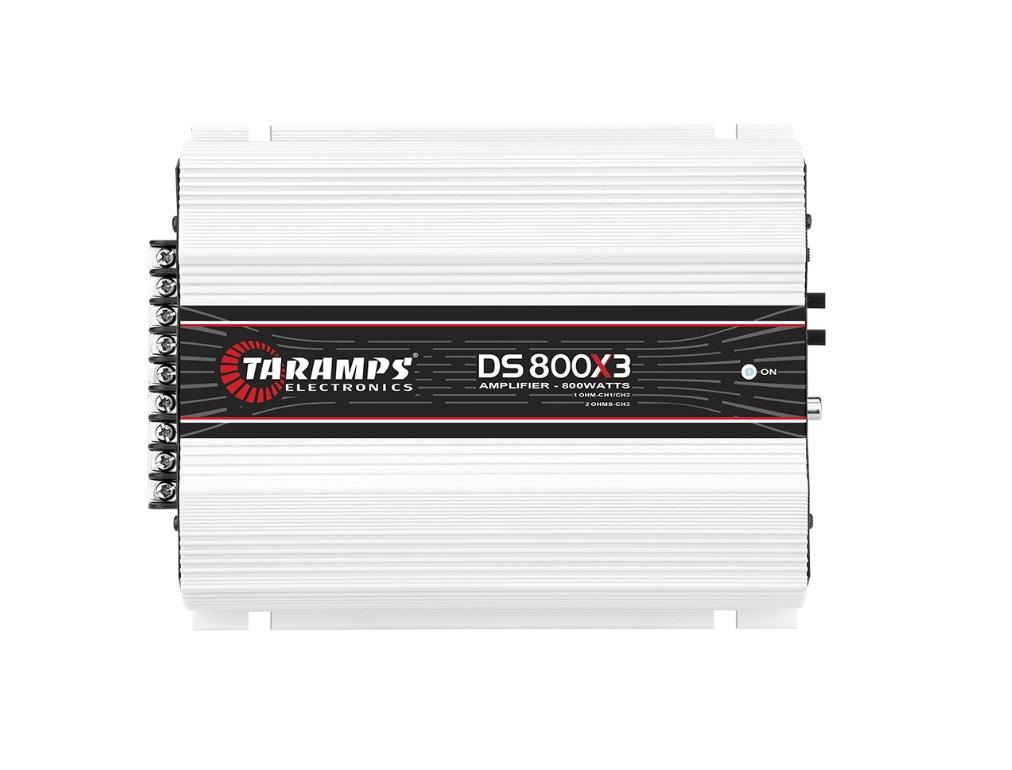 Taramps DS 800X3 Τρικάναλος Ενισχυτής Αυτοκινήτου 2x200W RMS & 1x400W RMS