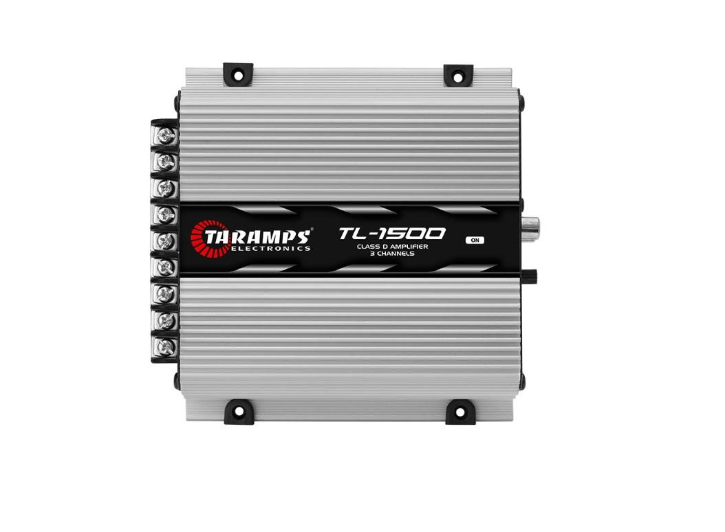 Taramps TL1500 Τρικάναλος Ενισχυτής Αυτοκινήτου 2x 95W RMS & 1x 200W RMS