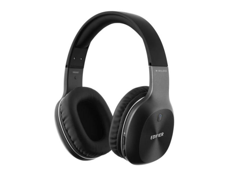 Edifier W800BT Ενσύρματα - Ασύρματα ακουστικά Bluetooth Χρώμα Μαύρο