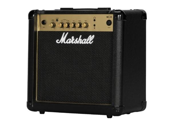 Marshall MG15G Ενισχυτής Κιθάρας combo 15W Gold