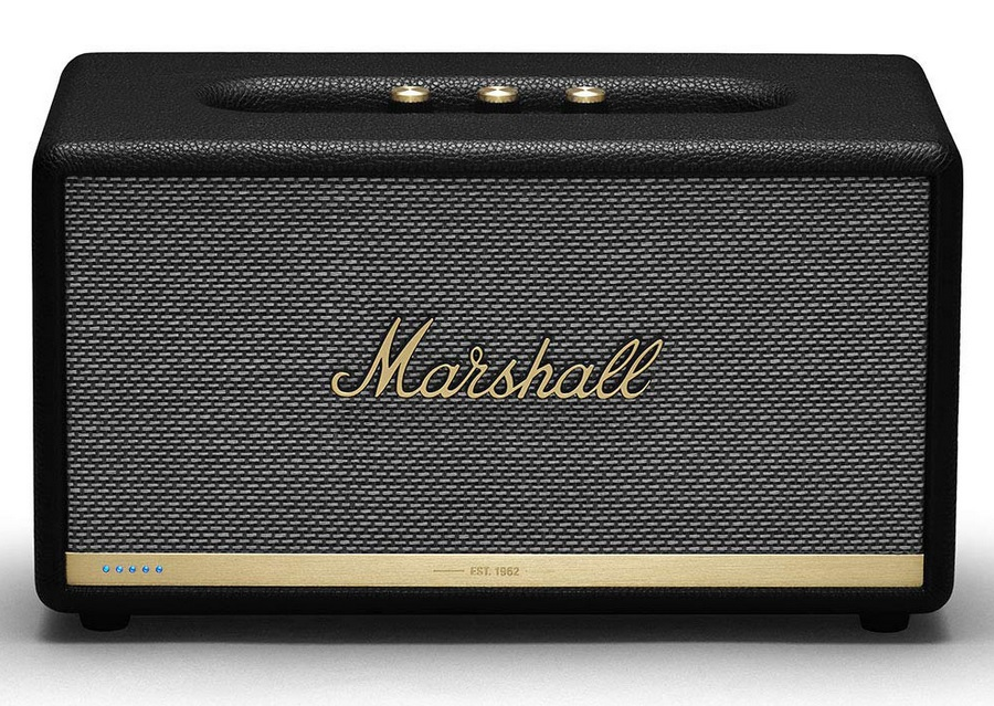 Marshall Stanmore II Voice Alexa,ενεργό Ηχείο Bluethooth & WiFi Με αναγνώριση φωνής, χρώμα Μαύρο