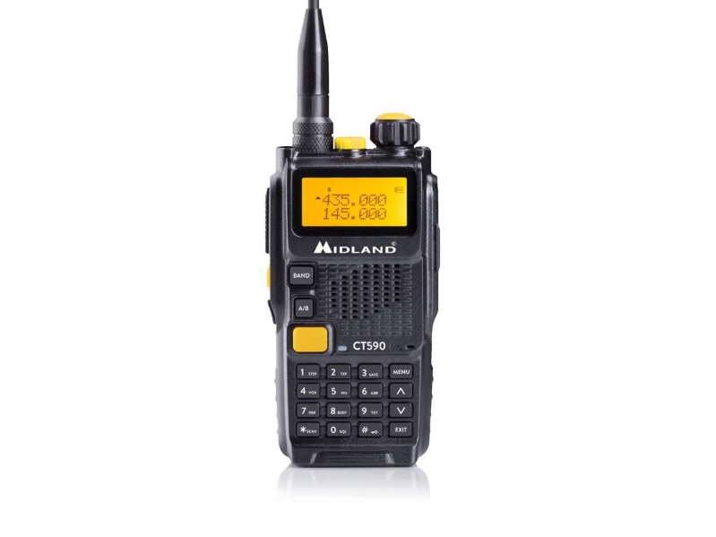 Midland CT590 Dual Band VHF/UHF Φορητός πομποδέκτης