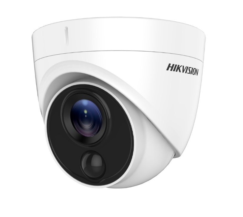 Hikvision DS-2CE71H0T-PIRLPO Κάμερα HDTVI 5MP Φακός 2.8mm
