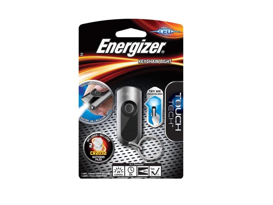Energizer Touch Tech Keychain Light Φακός Μπρελοκ 20 Lumens