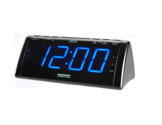 DAEWOO DCR-49 Ρολόι / Ξυπνητήρι / Ραδιόφωνο