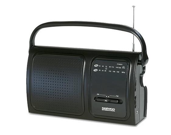 DAEWOO DRP-19 Ραδιόφωνο AM/FM με Μεγάφωνο
