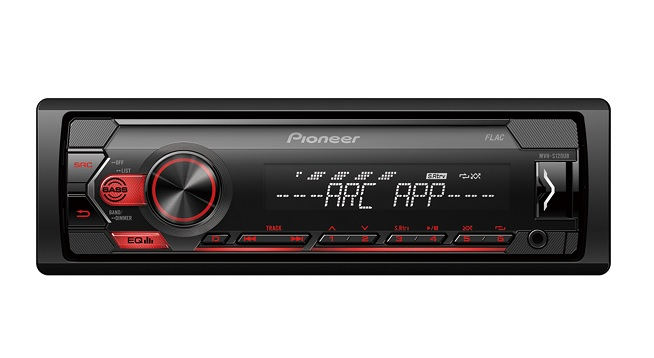 Pioneer MVH-S120UB Ράδιο USB/AUX Με Κόκκινο Φωτισμό 4x50 Watt