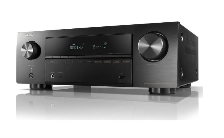 Denon AVR-X550BT Ραδιοενισχυτής Home Cinema 5.2CH Black