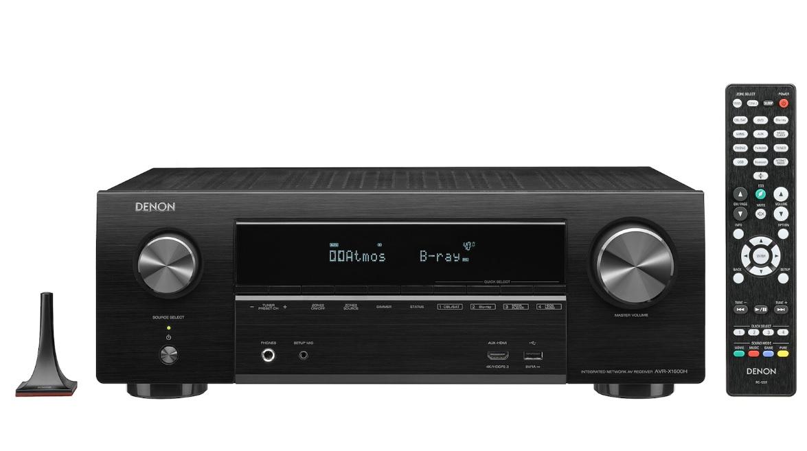 Denon AVR-X1600H Ραδιοενισχυτής Home Cinema 7.2CH