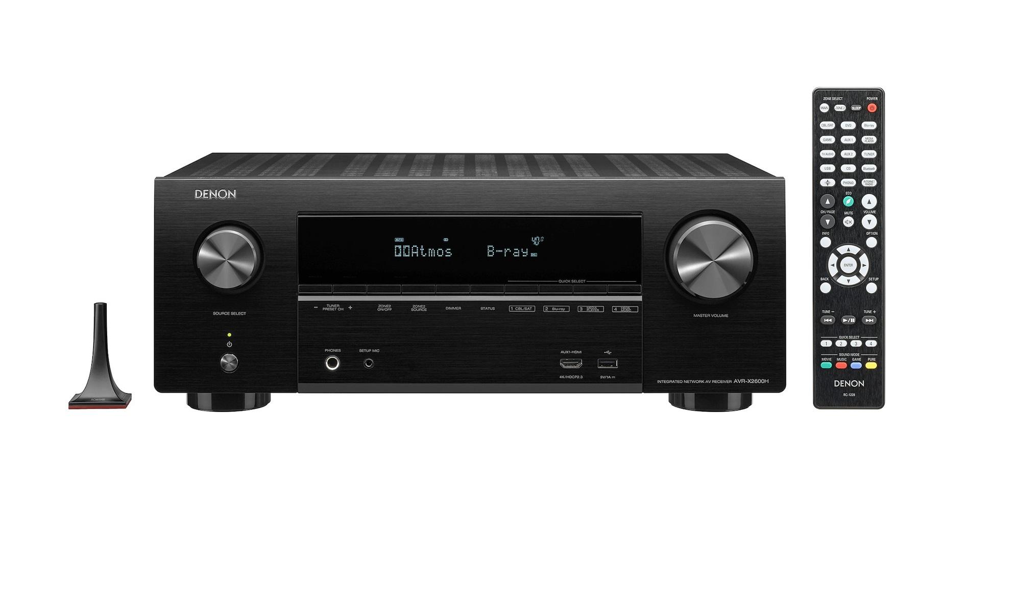 Denon AVR-X2600H Ραδιοενισχυτής Home Cinema 7.2CH