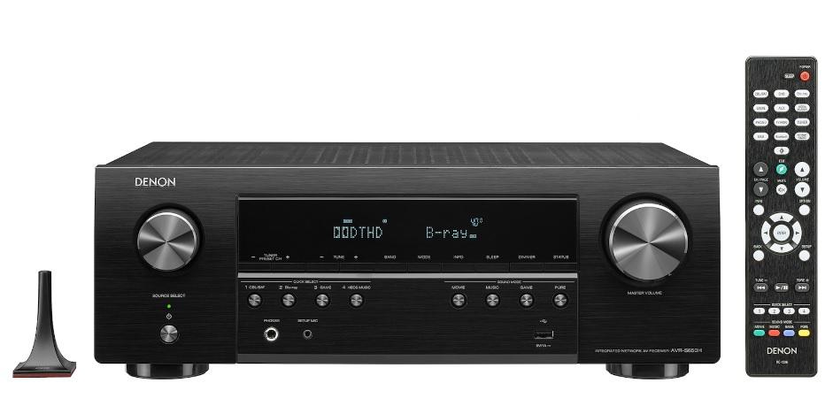Denon AVR-S650H Ραδιοενισχυτής Home Cinema 5.2CH Black
