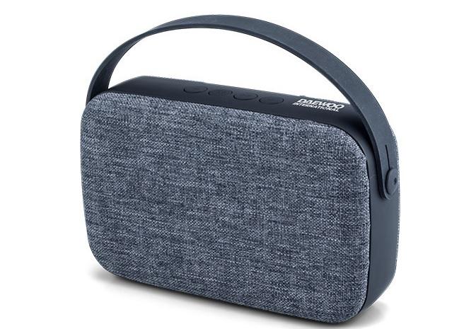 Daewoo DBT-302 Bluetooth Speaker & MP3 Player Grey