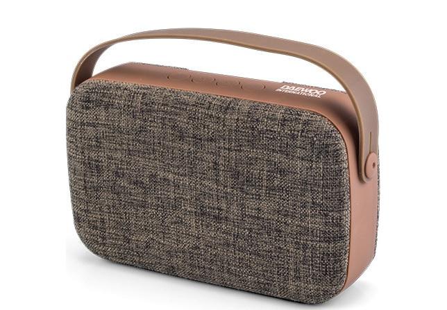 Daewoo DBT-302 Bluetooth Speaker & MP3 Player Brown
