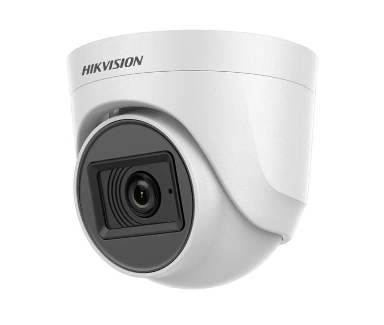Hikvision DS-2CE76D0T-ITPFS Κάμερα HDTVI 1080p Φακός 2.8mm, Mic - Audio Over Coax