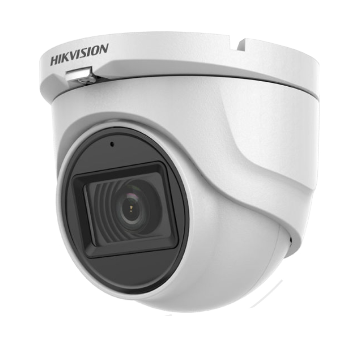 Hikvision DS-2CE76H0T-ITMFS Κάμερα HDTVI 5MP Φακός 2.8mm, Mic - Audio Over Coax