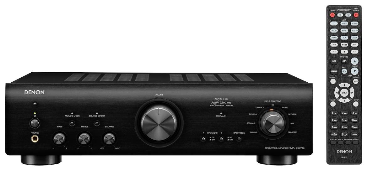 Denon PMA-800NE Black Ενισχυτής Hi-Fi Stereo 2 x 85W