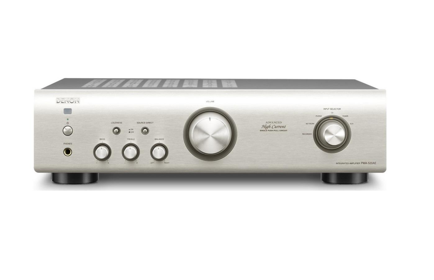 Denon PMA-520AE Silver Ενισχυτής Hi-Fi Stereo 2 x 70W