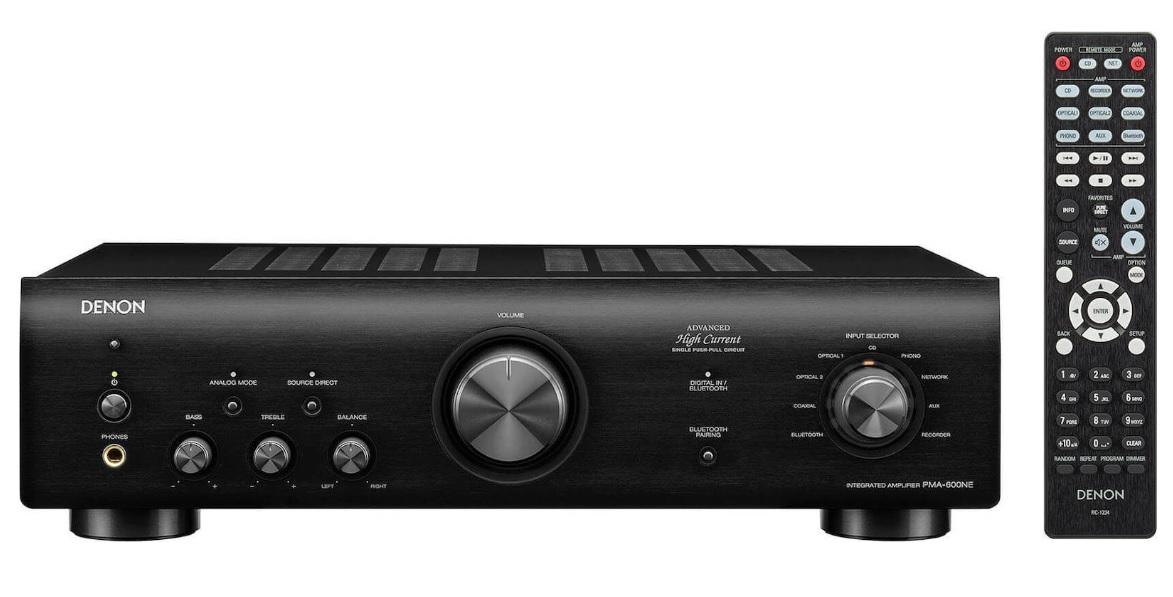 Denon PMA-600NE Black Ενισχυτής Hi-Fi Stereo 2 x 70W