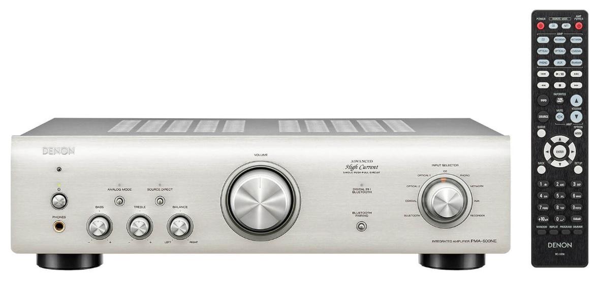 Denon PMA-600NE Silver Ενισχυτής Hi-Fi Stereo 2 x 70W