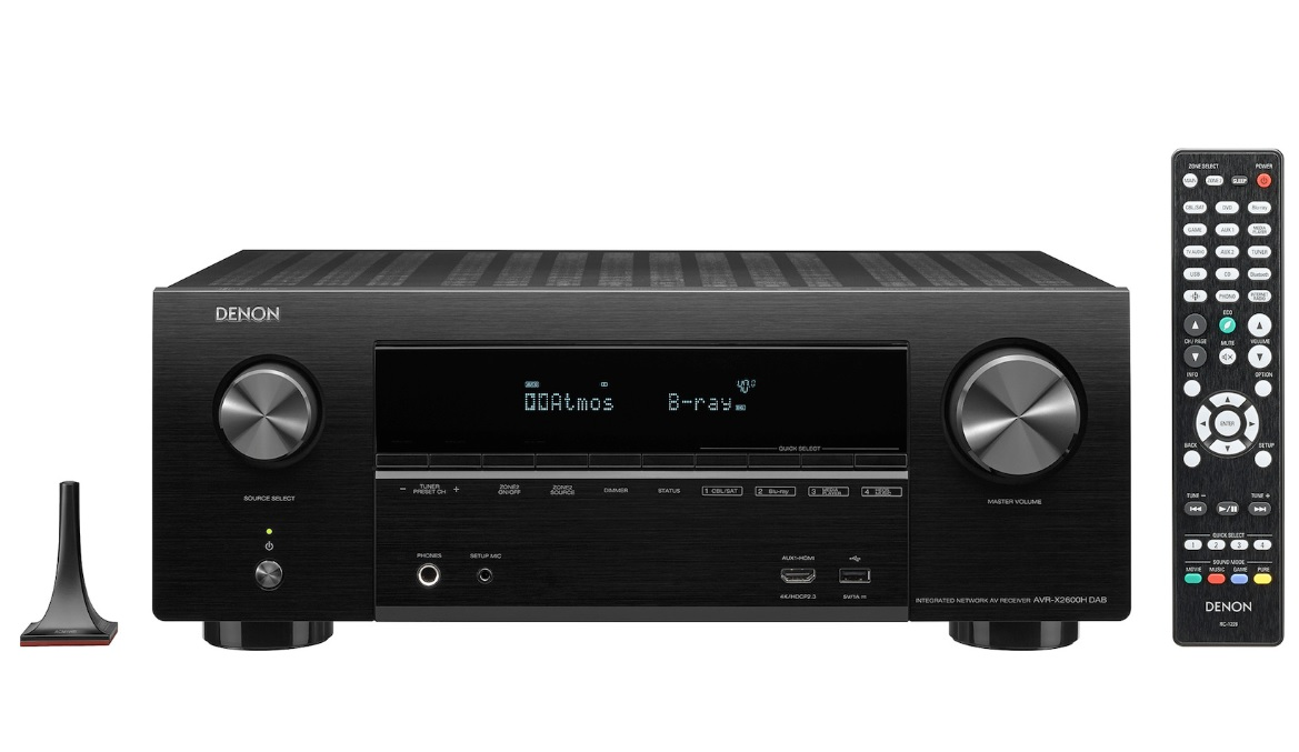 Denon AVR-X2600H DAB Black Ραδιοενισχυτής Home Cinema 7.2CH