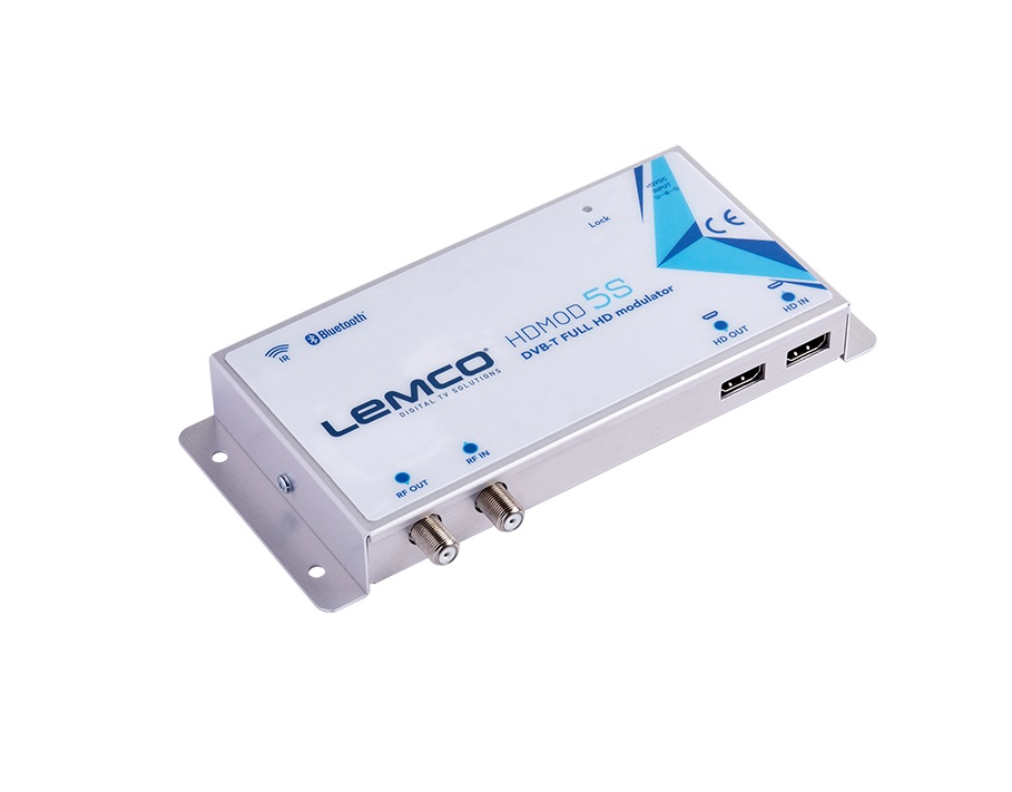 LEMCO HDMOD-5S Ψηφιακός Διαμορφωτής (Modulator) HDMI Full-HD σε RF DVB-T, RF loop-through + IR TX