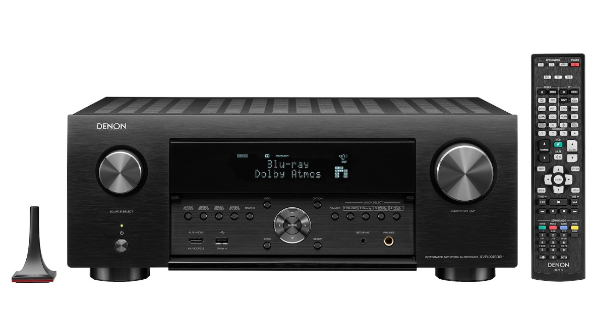 Denon AVR-X4500H Black Δικτυακός Ραδιοενισχυτής Home Cinema 9.2 ch